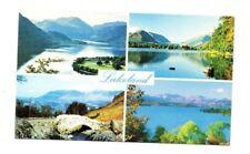Cumbria - Lakeland - Multiview Postcard Franked 1980