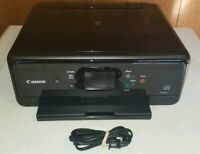 Canon Pixma All-In-One Printer Scanner Copier Touch Screen W/ Ink AC Cord Tested