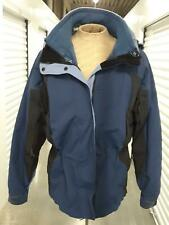 Columbia Core Women's Size Large Outdoor Snow Ski Jacket Blue Hooded