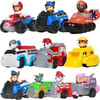 Paw Patrol dog Puppy Patrol car toys Figures Chase marshall Ryder's Vehicle Car