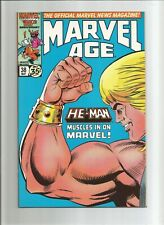Marvel Age #38 1st app He-Man Masters of the Universe in Marvel HIGH GRADE