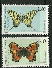 ANDORRA, FRENCH SCOTT #443 - 444 MINT NEVER HINGED NH