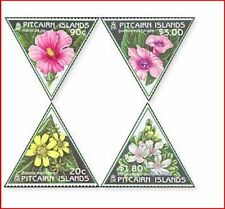 PIT093N Flowers 4 stamps