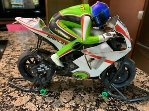 1:8 Venom GPV-1 RTR R/C Motorcycle, with transmitter, Stands, Chargers