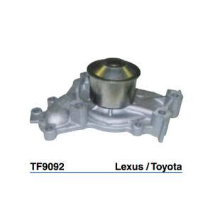 Tru-Flow Water Pump (GMB) TF9092 fits Lexus ES ES300 (MCV20), ES300 (MCV30)