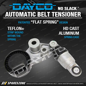 Dayco Automatic Belt Tensioner for Ssangyong Stavic SV270 A100 Kyron D100