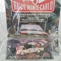 1:43 AUDI QUATTRO   1982 MOUTON-PONS  RALLYE MONTE-CARLO C.#70 IXO DIE-CAST MIB