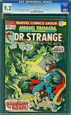 MARVEL PREMIERE 12 CGC 9.2 DR STRANGE Brunner Englehart 1973