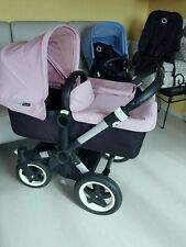 Bugaboo Donkey Twin Geschwisterkinderwagen, Doppel Kinderwagen, Zwillingswagen