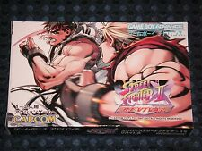 RARE! NEW GBA Super Street Fighter II X Revival Game Boy Advance CAPCOM JAPAN FS