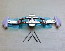CLASP & Ceramic Clasp LINKS Fits Emporio Armani AR1442 Watch strap/bracelet/band