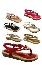 Summer Children Kids Girls Crystal Beach Princess Shoes Elastic Sandals Confort