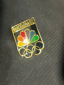 NBC- 1992 BARCELONA, SPAIN SUMMER OLYMPICS LOGO OFFICIAL PIN