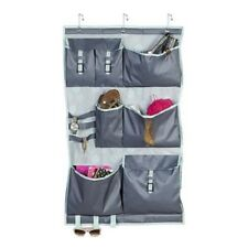 Honey Can Do 7 Pocket Over-the-Door OTD Hanging Organizer 24x1x40 Polyester Mint