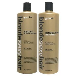 Blonde Sexy Hair Bombshell Blonde Daily Color Preserving  Shampoo & Conditioner