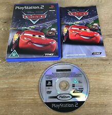 Disney Pixar Cars 1   Sony PlayStation 2 PS2 PAL   Complete