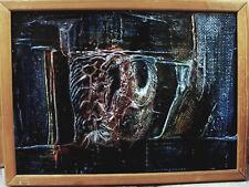 Sven Höglund 1935-2008, Komposition, Emaillemalerei, datiert 1963