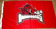 RAZORBACKS 3X5 BANNER INSIDE/OUTSIDE NCAA LICENSED NEW PREMIUM GROMMLET FLAG