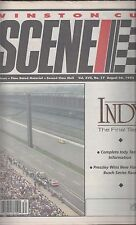 Original Winston Cup Scene August 26,1993 Indy Final Test Information Ford Chevy