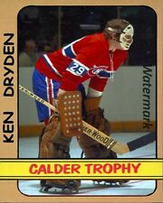 Early 1970's Montreal Canadiens Ken Dryden Color  8 X 10 Photo Picture
