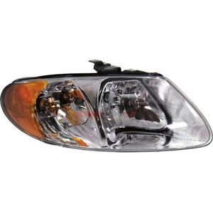 NEW HEADLIGHT RIGHT FITS 2001-2007 CHRYSLER TOWN & COUNTRY 4857700AC