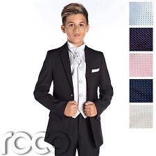 Boys Wedding Suit, Black Prom Suit, Page Boy Outfit, Boys Slim Fit Suit