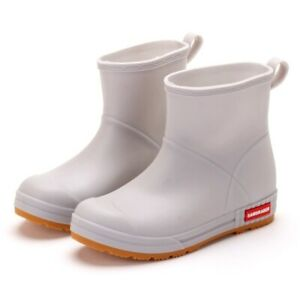 Ankle Boots Woman Waterproof Rubber Shoes Rain Shoes Outdoor Booties Comfort