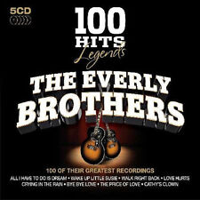 EVERLY BROTHERS - 100 HITS LEGENDS - 5 CD BOXSET