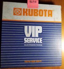 Kubota G1700 G1800 G1900 G2000 Tractor Workshop Manual 97897-10830 8/89 + Mower