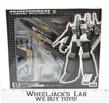 Black Starscream 22 Ehobby MISB NEW Takara Exclusive G1 Transformers E-Hobby