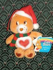 "Care Bear 5"" Christment Ornament * TENDERHEART BEAR *NWT* 2004 * RARE *RETIRED"