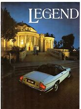 Jaguar Legend Magazine No1 Late 1985 UK Market Brochure XJ XJS XJR-5 Le Mans