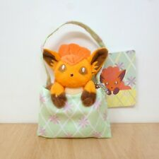 "Official Pokemon Center 2013 - Vulpix Peeking Bag Mascot Plush Soft Toy Japan 5"""