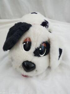 "2004 MATTEL POUND PUPPY DALMATIAN 12"" WHITE BLACK PLUSH DOG"