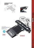 T MAX 500 TMAX Support plaque rabattable UNIVERSEL LISENCE PLATE FOLDING 08/2011