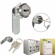 1* Cam Lock File Cabinet Mailbox Toolbox Desk Drawer Cupboard Locker + 2 Keys i