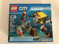 LEGO 60091 City Deep Sea Starter Set Retired set - Free shipping