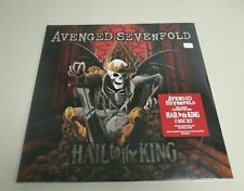JJ9- AVENGED SEVENFOLD 2 LP VIN & DOWNLOAD CARD 2013 US NUEVO PRECINTADO