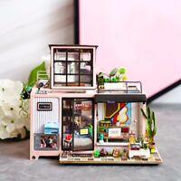 Genuine Robotime Kevin's Studio DIY Miniature Dollhouse 3D wooden model kit AUS