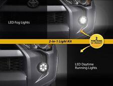 2014-2017 Toyota 4Runner Auer 2 In 1 LED DRL & Fog Light Kit UPGRADE T4R-2N1