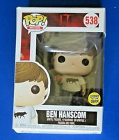FUNKO POP BEN HANSCOM #538 ~ NEW