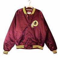 Chalk Line Vintage Vtg Washington Redskins Bomber NFL Jacket Burgundy Large L