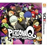 Persona Q: Shadow Of The Labyrinth Nintendo Standard Edition For 3DS RPG