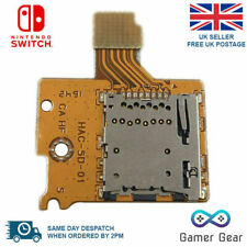 Nintendo Switch NS Console Micro SD TF Memory Card Slot Port Socket Reader