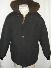 12 NWT Eddie Bauer Mens B9 Down Parka Coat Jacket Black 550 Fill Power Hooded