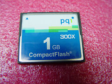 5 Stück schnelle Compactflash 1GB 300x PQI