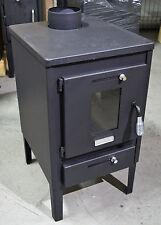 Combustion du bois poêle brûleur Foyer Cheminée Mini 8KW avec acier couvercle