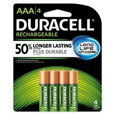 Duracell Coppertop NiMH Pre-Charged Rechargeable Battery - NLAAA4BCD