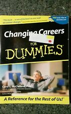 Changing Careers for Dummies® by Carol L. McClelland (2001, Paperback)