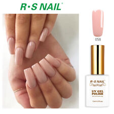RS Nail Gel Nail Polish LED UV Hybrid Gel Colour Soak Off Pink 058
